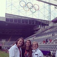 Lauren Cheney, Tobin Heath, Amy Rodriguez. (Instagram)