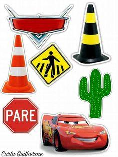 Disney Cars Party, Disney Cars Birthday, Car Themed Parties, Cars Birthday Parties, Cool Birthday Cakes, Auto Party, Car Party, Car Cake Toppers, Car Cake Tutorial