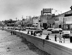 With summer vacation now in the books, we thought we'd take a look back at one of the Boston area's best-known beaches. Here's a look at Revere Beach in years past, via The Boston Globe's archives. East Boston, In Boston, Boston Pictures, New England Usa, Revere Beach, Running On The Beach, Historical Pictures, The Good Old Days, Old Photos