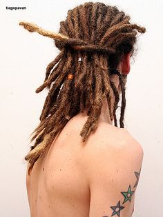 Male Dreadlocks by tiagopavan, via Flickr