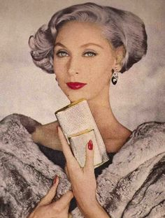 Beauty News August 1956   Louise Dahl Wolfe