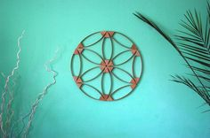 Flower of Life wooden wall hanging meditation by Powerofwood