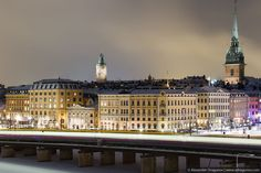 Alexander Dragunov | Stockholm night view