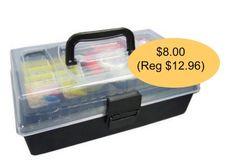Walmart: Outdoor Angler 101-Piece Fishing Tackle Kit $8.00 (Reg $12.96)