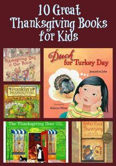 Great Thanksgiving Books For Kids | School | Pinterest