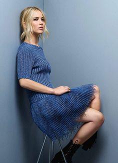 Jennifer Lawrence, Elle France magazine photoshoot, Dior Resort 2016 collection, photographer Jean-Baptiste Mondino.