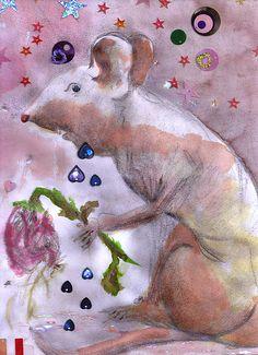 Little Gnaw Skank 2 - Rose by Geckojoy