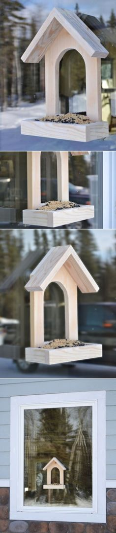 Window DIY Bird Feeder
