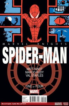Coming in October, it's Marvel Knights: Spider-Man by Matt Kindt and Marco Rudy! Which of his 100 foes will give Spidey the most trouble? http://marvel.com/news/story/20865/face_the_foes_with_marvel_knights_spider-man