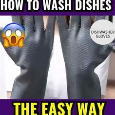 MAGIC CLEANING DISHWASHING GLOVES The innovative design of these Magic Dishwashing Gloves makes them super easy to use and clean. These convenient, silicone scrub gloves feature built-in dish scrubbing brushes, right in the palms of your hands.