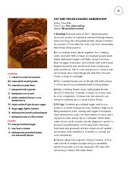 "Oat and pecan caramel sandwhiches  I saw this in ""A Merry Mix"" in Martha Stewart Living December 2014-January 2015."