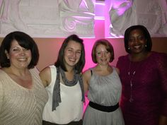 Such lovely ladies at the #wiba2012 Alison, Eva, Louise and Saloma.  www.nappytastic.com