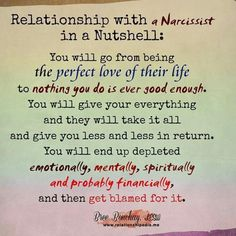How to get away from a narcissistic man