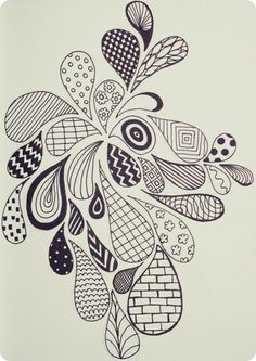 40 simple and easy doodle art ideas to try zentangle drawings, doodle drawings, doodles Zentangle Drawings, Doodles Zentangles, Doodle Drawings, Simple Doodles Drawings, Doodling Art, Pencil Drawings, Cool Simple Drawings, Art Drawings Sketches Simple, Sharpie Drawings