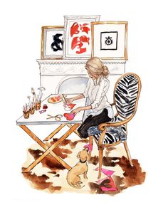 February calendar girl is crafty in love by Inslee