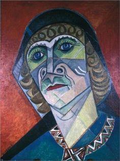 Self-portrait - Marevna (Marie Vorobieff)