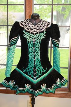Emily - Irish Dance Solo Dress Costume by IDentify You - front