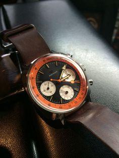 60's Movado Sub Sea Chronograph  Very cool