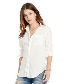 Cotton Boyfriend Shirt - Denim   Supply Button Downs - RalphLauren.com 316106b1c05