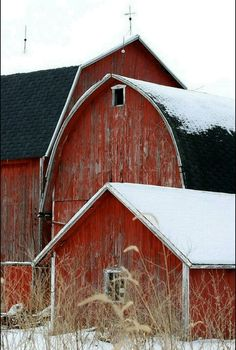 Reminds me of my uncle's barns.