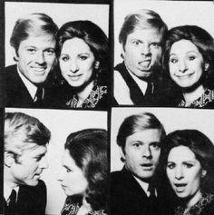 Barbra Streisand & Robert Redford photo booth