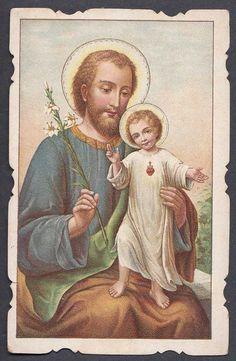 1900s SAINT JOSEPH INFANT JESUS CHRIST