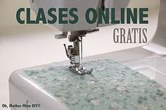 Clase de costura 10. Comenzar a coser a máquina: costura lineal,... | Oh, Mother Mine DIY!! | Bloglovin'