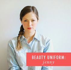 "A CUP OF JO: ""My Beauty Uniform"""