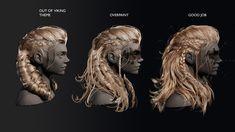 Viking Braids, Viking Hair, Medieval Hairstyles, Fantasy Hairstyles, Viking Warrior, Viking Woman, Mad Max Costume, Viking Wedding, Baddie Makeup