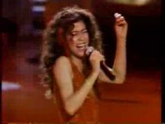 Irene Cara 1983 Flashdance...What a Feeling .. Live and awesome!