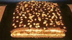 Lahodný zákusok s dvomi druhmi krémov - Receptik. Russian Cakes, How Sweet Eats, Amazing Cakes, I Foods, Tiramisu, Food And Drink, Cooking Recipes, Yummy Food, Sweets
