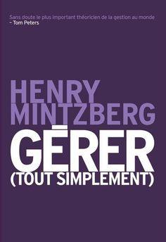 HENRY MINTZBERG : Gérer   Archambault.ca