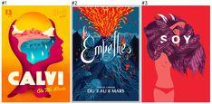 Le classement TOPAFF des 100 meilleures affiches des festivals français de l'année 2015