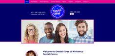 #sesamewebdesign #psds #dental #cosmetic #responsive #topnav #top-nav #contained #full-width #fullwidth #circles #pink #blue #sitcky #