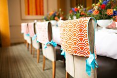 Event Wedding Chair Back Covers  Match with YOUR by riaholic, $30.00