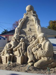 40 Creative Sand Sculpture Photographs | Web Design Blog, Web Designer Resources