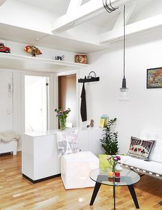 즐거운 솔리~ :: 단점을 장점으로 승화한 작은 다락방 아파트 인테리어