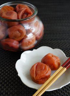Umeboshi, Japanese sour-pickled plum 梅干し
