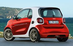 Smart Fortwo Brabus 2015