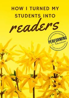 Love this post on getting students to read. Lots of fun ideas for reading teachers!