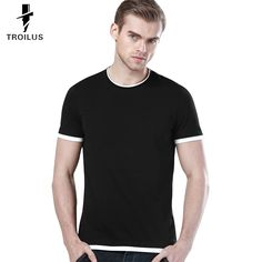 Find More T-Shirts Information about Troilus 2016 Fashion T shirt Summer Breathable Men Underclothes Solid color Slim O Neck Short Sleeve Sports T shirt Clothes Tees,High Quality clothes badges,China clothes men Suppliers, Cheap clothes rack from Troilus Flagship Store on Aliexpress.com