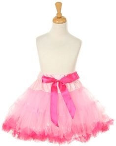 Pink 2 tone Tutu 2T-6 at The Stylish Boutique  Find here: http://stores.ebay.com/The-Stylish-Boutique/_i.html?_nkw=tutu&submit=Search&_sid=544253133