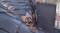 How to Repair Leaking Chimney Roof Flashing ~ via www.todayshomeowner.com/video/how-to-repair-leaking-chimney-roof-flashing/