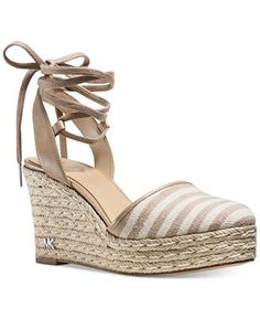 MICHAEL Michael Kors Margie Lace-Up Espadrilles - MICHAEL Michael Kors - Shoes - Macy's