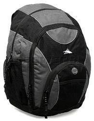 34 litre - http://www.bagworld.com.au/shop/detail/high-sierra-backpack-grey-5434/ $39.95