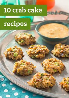 10 Crab Cake Recipes – When it comes to seafood appetizers, crab cakes are on our top 10 list! A long-time favorite on restaurant menus, crab cakes can be party food or part of a main dish and are easy to make at home.