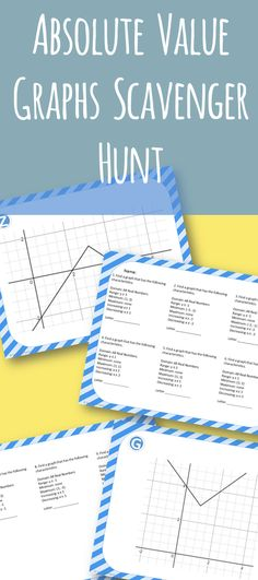 Standard Form Of Linear Functions X And Y Intercept Scavenger Hunt