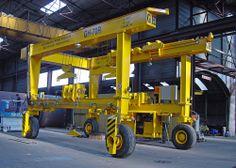 Instalación de pórtico industrial automotor GH Cranes & Components de 70t.