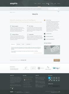 empirio Corporate Template on Web Design Served
