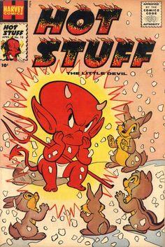 """Hot Stuff"" comic books bring back memories of reading my Dad's comics."